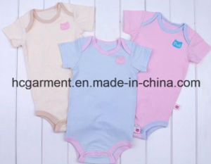 Newborn Cotton Short Sleeve Rompers for Baby Girl/Boy, Baby Clothing pictures & photos