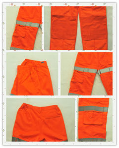 Work King Denier Hi-Vis Thermal Safety Snow Pants pictures & photos