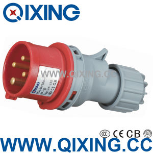 3 Phase Mobile Male Plug for CE Certification (QX-252) pictures & photos