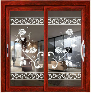Tempered Glass Aluminum Sliding Door and Window pictures & photos