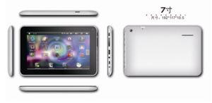 7′′ A10 Tablet PC (A735 Sole WiFi, 800*480, Android 4.0,)