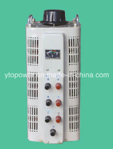 LCD Display Tsgc2 Series Contact Voltage Regulator/Variable Transformer 3phase, Tsgc2-3/6/9/12/15/20/30/40/45/50kVA
