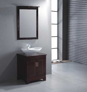 Solid Wood Bathroom Cabinet / Bathroom Furniture / Bathroom Vanity (YL-S9852)