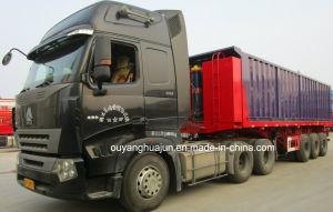 9 Meters Self-Dump Truck Semitrailer pictures & photos