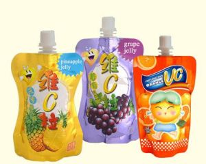 Stand up Plastic Spout Bag and Reusable Baby Food Pouch pictures & photos