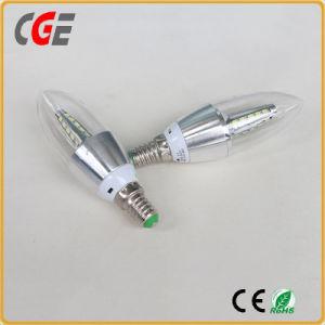 Transparent E27 5W Aluminum LED Candle Bulb pictures & photos