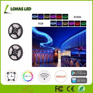 Smartphone Controlled RGB WiFi Smart LED Strip Light pictures & photos