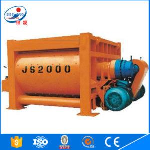 Jinsheng Twin Shaft Electric Js Series Higj Quality Js2000 Concrete Mixer pictures & photos