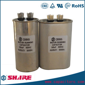 Anti-Explosion Oil-Filled Cbb65 AC Motor Capacitor pictures & photos