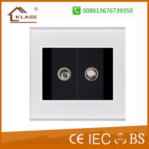 China Wholesale Cheap Price TV+Satellite Wall Socket pictures & photos