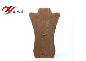 Velvet Jewelry Necklace Display Stand for Pendant Display pictures & photos