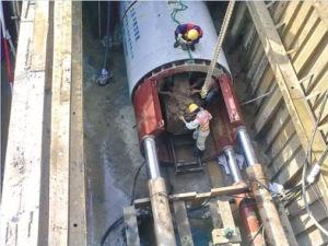 Dk1800 Epb Microtunnel Boring Machine/Earth Pressure Balanced Pipe Jacking Machine pictures & photos