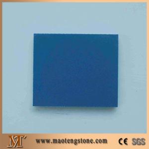 Pure Blue Quartz Stone Artificial Quartz Slab pictures & photos