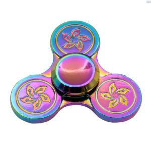 Relieved Adhd Focus Rainbow Dart Colorful Alloy Fidget Hand Spinner pictures & photos