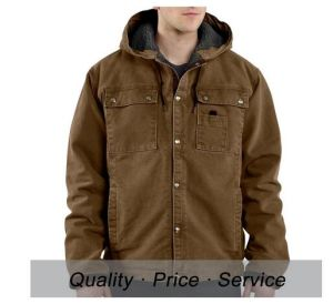 Cotton Workwear Jackets Quilted Winter Jacket Uniform for Men pictures & photos