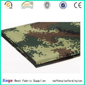PVC Coated 100% Nylon 1000d Cordura Fabric with Military Printed pictures & photos