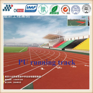 Iaaf Certificated Athletic Rubber Running Track From Professional Manufacturer pictures & photos