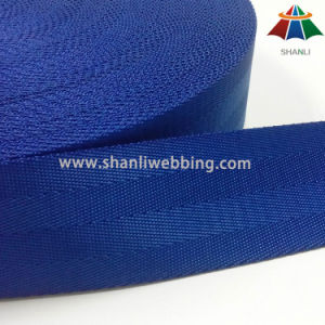 1.5 Inch Ocean Blue Nylon Seatbelt Webbing pictures & photos