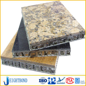 Super Thin Stone Aluminum Honeycomb Panel for Wall Cladding pictures & photos