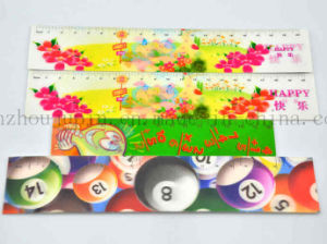 Custom Print Advertising 3D Plastic Ruler for Promotion pictures & photos