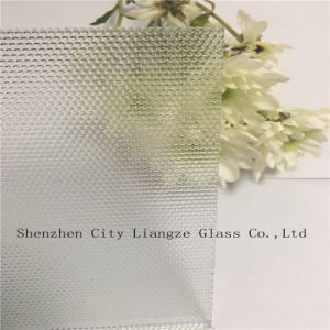 Pattern Glass/ Printed Glass/Figured Glass/Patterned Glass /Rolled Glass/Float Glass with Polka-DOT for Decorated pictures & photos