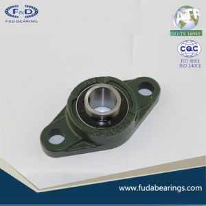 UCFL310 Chrome Steel Grey Cast Iron Housing Pillow Block Bearing for Agricultural Machinery pictures & photos
