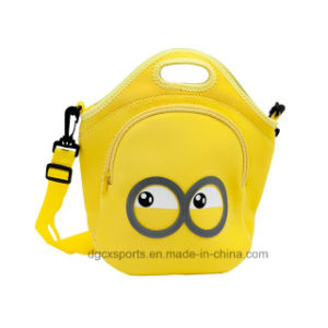 Children Neoprene Lunch Cooler Bag Carry Shoulder Bag pictures & photos