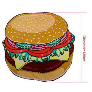 2017 Hot Sale China OEM Accept Cute Hamburger Beach Cover Dress pictures & photos