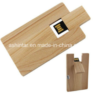 Swivel USB Pendrive USB Stick Wood Card USB Flash Drive pictures & photos