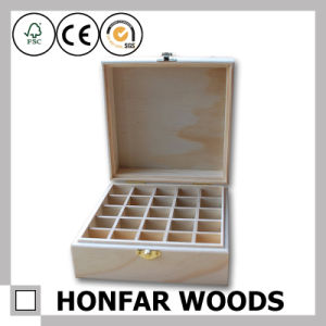 Big Size Wooden Essential Oil Box Wooden Storage Box pictures & photos