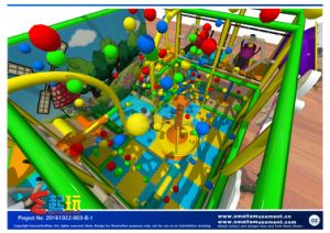 Ball Battle for Indoor Playground pictures & photos