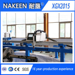 Three Axis CNC Round Pipe Gas Cutting Machine