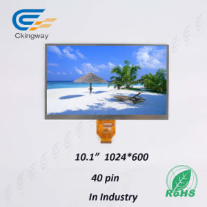 """10.1"""" Lvds Interface 40 Pin 500 CD/M2 TFT Product pictures & photos"""