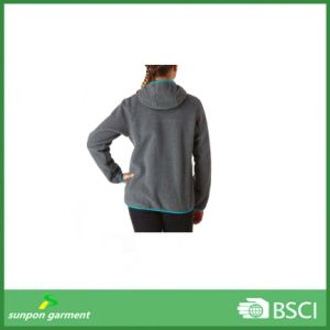 fashion Long-Sleeve Hoodie Polar Fleece Jacket pictures & photos