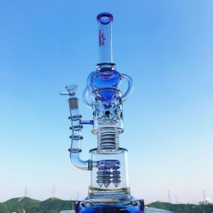 Roor Honeycomb Birdcage Percolator Glass Smoking Water Pipe pictures & photos