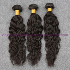 8A Grade Peruvian Virgin Hair Water Wave with Bundles Wavy Human Hair Extensions Curly Weave Human Hair Weave pictures & photos