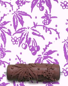 Single Color 6 Inch Decoration Patterned Paint Roller pictures & photos