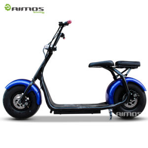 2016 Popular Harley Style Electric Scooter with Big Wheels pictures & photos