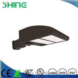 LED Shoebox 100W Light Parking Lot Fixture Philips Replaces 200W-400W Mh/HPS pictures & photos