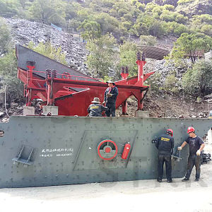 Screen Machine Crusher Vibrating Screen pictures & photos