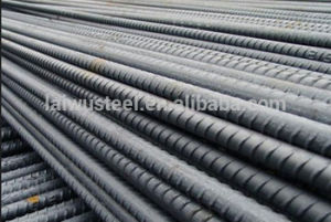 Laigang Brand Hot Rolled Steel Rebar pictures & photos