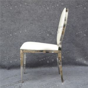 Wedding Party Hotel Stainless Steel Dining Chair (YC-ZS48) pictures & photos