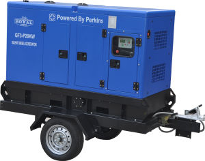 20kVA 16kw Trailer Diesel Generator Sets Powered by Perkins pictures & photos