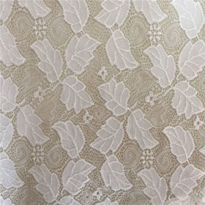 Manufacturer New Design Nylon Raschel Knit Lace Fabric pictures & photos