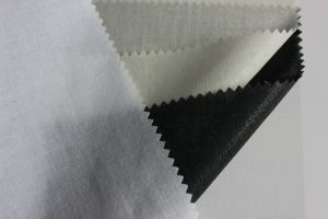 Shirt Interlining Tie Necktie Scarf 100% Cotton Polyester Fusible Fabrics pictures & photos