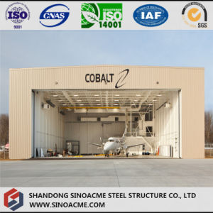 Steel Structure Light Gabled Frame Aircraft Hangar for Helicopter pictures & photos
