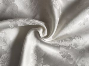 Stretch Satin Jacquard Fabric pictures & photos