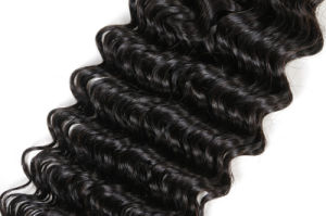 Brazilian Virgin Hair Deep Wave Human Hair Extension Unprocessed Human Hair Weave Hair Boundles pictures & photos
