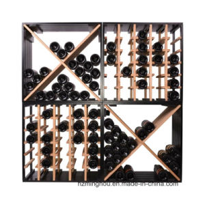 24 Bottle Compact Cellar Cube Wooden Wine Cube Factory pictures & photos