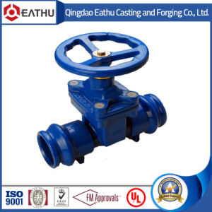 Ductile Iron Grooved Gate Valve pictures & photos